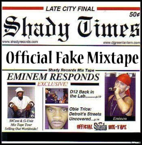 Eminem - Official Fake Mixtape (2010)