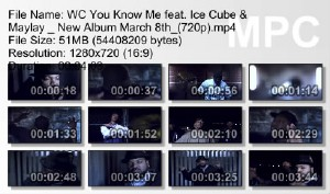 WC feat. Ice Cube & Maylay - You Know Me (2011)