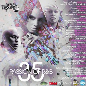 DJ Triple Exe - The Passion Of R&B 35 (2011)